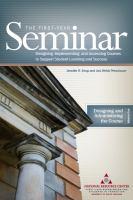 The First-year Seminar