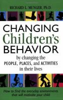 Changing Children's Behavior