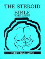 The Steroid Bible