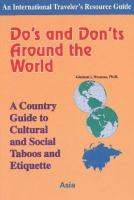 Do's and Don'ts Around the World