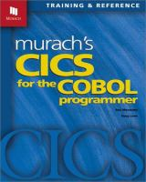 Murach's CICS for the COBOL Programmer