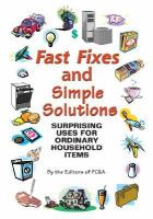 Fast Fixes and Simple Solutions