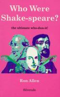 Who Were Shake-speare?