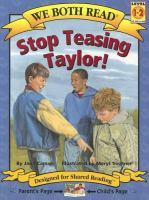 Stop Teasing Taylor!