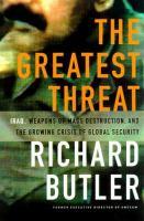 The Greatest Threat