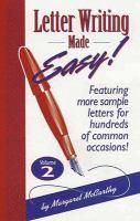 Letter Writing Made Easy! Volume 2