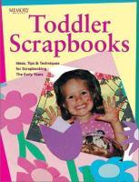 Toddler Scrapbooks
