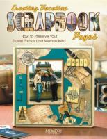 Creating Vacation Scrapbook Pages