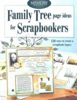 Family Tree Page Ideas for Scrapbookers