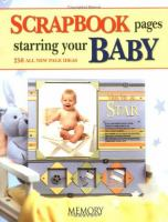 Scrapbook Pages Starring your Baby