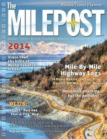 The Milepost Alaska Travel Planner 2014