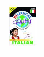 Bilingual Baby language video