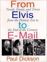 From Elvis to E-mail