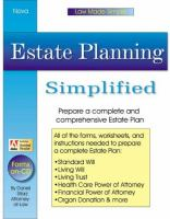 Estate Planning Simplified