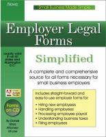 Employer Legal Forms Simplified