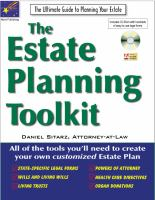 The Estate Planning Toolkit