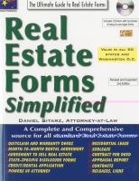 Real Estate Forms Simplified