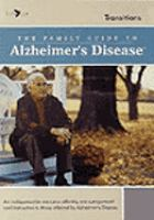 The Family Guide to Alzheimer's Disease