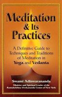 Vedanta Meditation & Its Practices