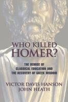 Who Killed Homer?