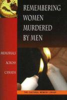 Remembering Women Murdered by Men