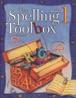 The Spelling Toolbox