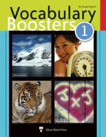 Vocabulary Boosters