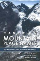 Canadian Mountain Place Names