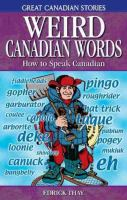 Weird Canadian Words