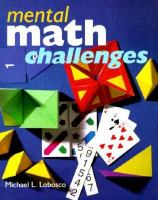 Mental Math Challenges