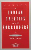 Indian Treaties and Surrenders
