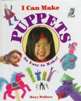 I Can Make Puppets