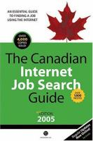 The Canadian Internet Job Search Guide