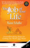 The Job of your Life