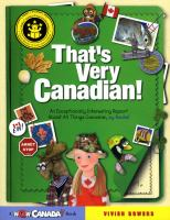 That's Very Canadian!