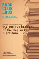 Bookclub-in-a-box Presents the Discussion Companion for Mark Haddon's Novel The Curious Incident of the Dog in the Night-time