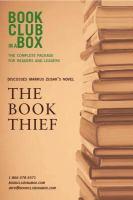 Bookclub-in-a-Box Presents the Discussion Companion for Martin [i.e. Marcus] Zusak's Novel The Book Thief