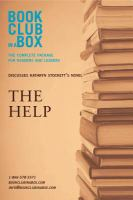 Bookclub-in-a-box Discusses The Help, by Kathryn Stockett