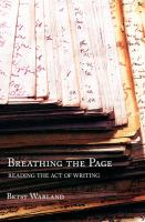 Breathing the Page