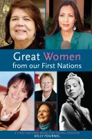 Great Women From Our First Nations