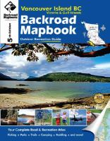 Vancouver Island BC, Victoria & Gulf Islands Backroad Mapbook