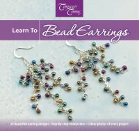Learn to Bead Earrings