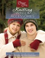 Knitting winter accessories.