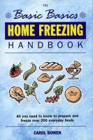 Home Freezing Handbook