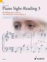 Piano sight-reading