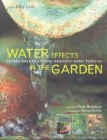 Water Effects in the Garden