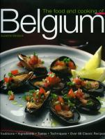The Food & Cooking of Belgium