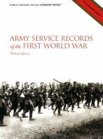 Army Service Records of the First World War