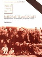 Emigrants and Expats