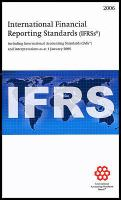 International Financial Reporting Standards (IFRSs) 2006